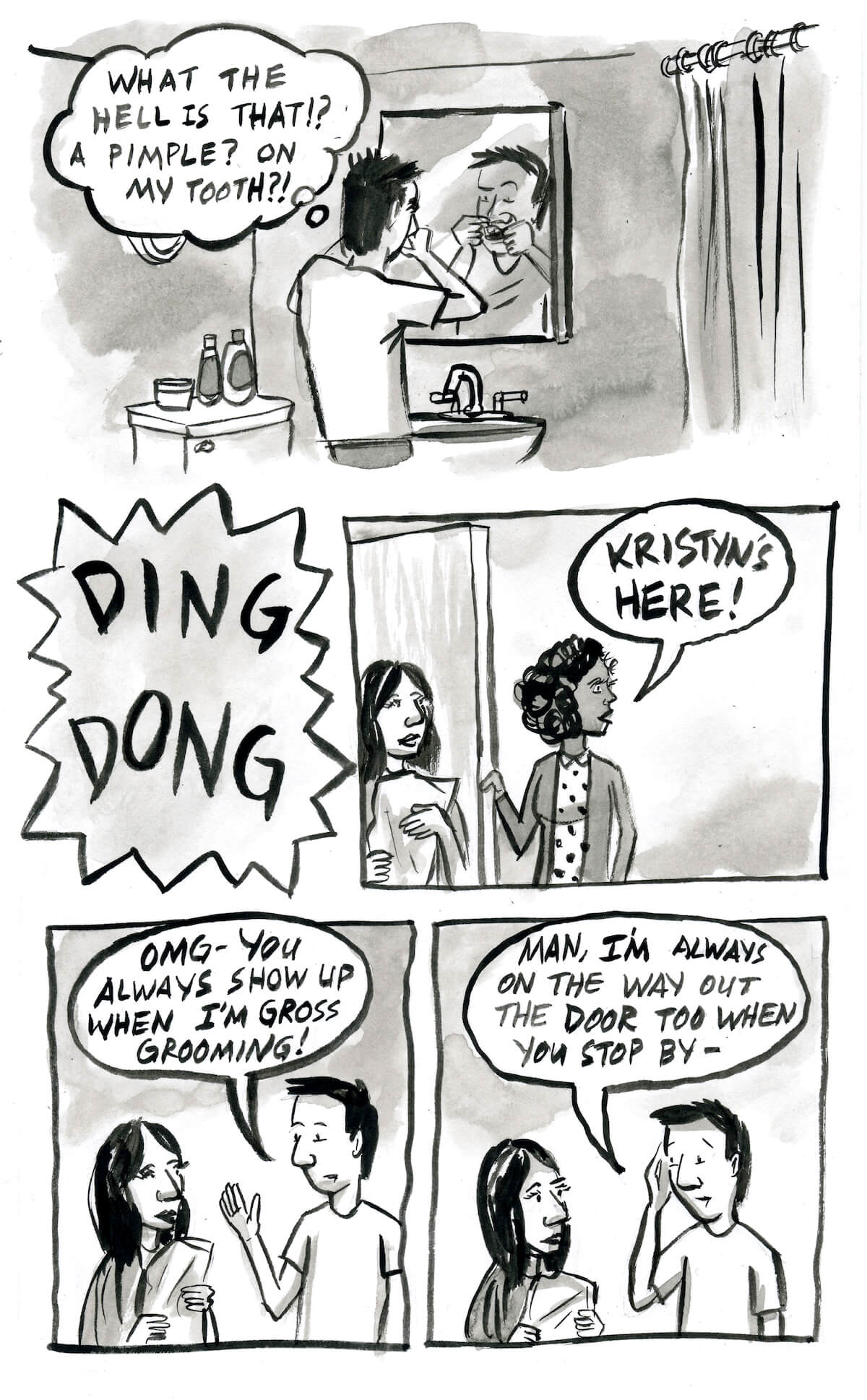 The Seattle Review Of Books Gross Grooming Comic